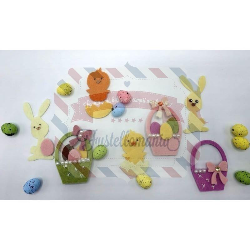 Fustella L Decorazioni per uova di Pasqua